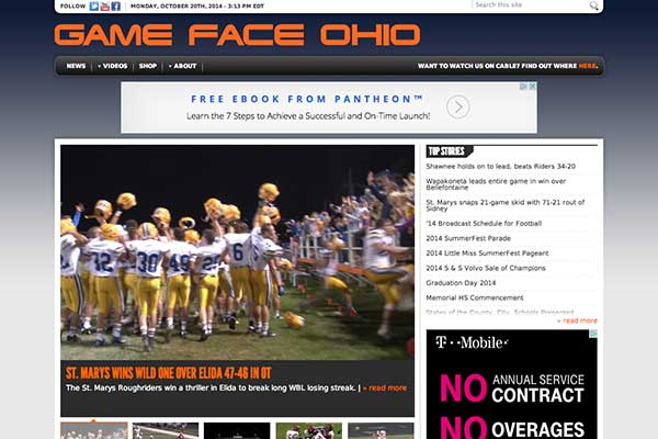 Visit Game Face Ohio
