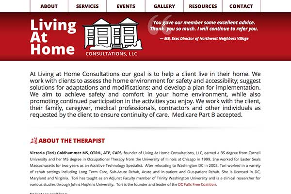 Visit Living At Home Consultations